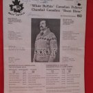 Vintage White Buffalo Canadian Pullover Sweater Knitting Pattern Adults #160