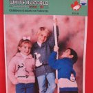 White Buffalo Canadian Sweater Pullover Knitting Pattern Children Rabbit Snowman Dog