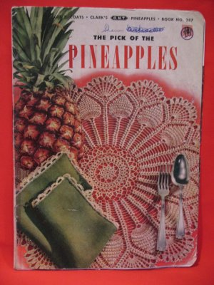 Free Crochet Pineapple Tablecloth Patterns