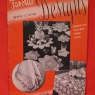 Vintage 1944 Crochet Tatting Pattern Magazine Edgings Doilies Tablecloths Luncheon Sets