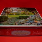 Vintage Gray Dunn Fancy Biscuits Cookie Tin England Countryside Souvenir Collector