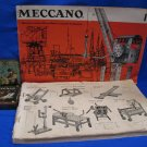 Vintage Meccano Tin Box set of 2 Plus Catalogue and Instruction Manual 1