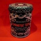 Vintage Boston's Chinese Tea Tin Republic of China Blue Souvenir Collector