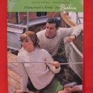 Patons Beehive Arran Aran Fisherman Knits Sweaters Knitting Pattern Family