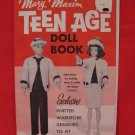 Vintage Mary Maxim 11 1/2 inch Teenage Doll Knitting Patterns Wardrobe