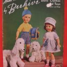 Vintage 1951 Beehive Doll Clothes and Toys Knitting Patterns