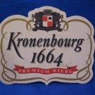Kronenbourg 1664 Beer Coaster Souvenir