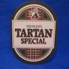 Younger's Tartan Special Ale Scottish Scotland Beer Coaster Souvenir