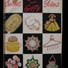 Vintage 1951 Crochet Pattern Magazine Gift Ideas Doilies Doll Clothes Mats etc