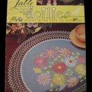 Vintage 1951 Crochet Pattern Magazine Table Doily Doilies