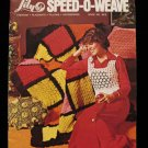 Vintage Lily Speed O Weave Weaving Pattern Magazine Fashions Pillows Placemats etc
