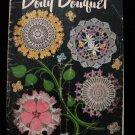 Vintage 1950 Crochet Pattern Magazine Table Doily Bouquet Doilies