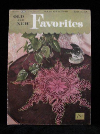 Vintage 1950 Crochet Pattern Magazine Doilies Doily Tablecloth Bedspread Chair Set etc