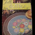 Vintage 1951 Crochet Pattern Magazine Table Doily Doilies Luncheon Set Place Mats etc