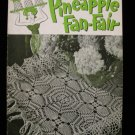 Vintage 1950 Crochet Pattern Magazine Pineapple Fan Fair Doilies Table Runners Tablecloth etc.