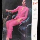 Vintage Emu RETRO Trouser Suit Pants Sweater Crochet Pattern Ladies