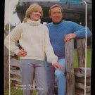 Bouquet Textured Bulky Pullover Sweaters Knitting Knit Patterns Adults