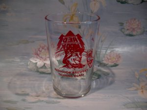 Redhook Brewery Tasting Glass Fireman Advertising Souvenir Collector Shot Glass