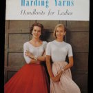 Vintage Harding Yarns Handknits Knitting Patterns Ladies Sweaters Cardigans Coat Suit Pullover