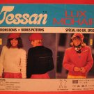 Tessan Lux Mohair Pullover Sweater and Jacket Knitting Pattern Ladies