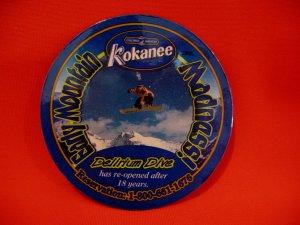Kokanee Beer Delirium Dive Early Mountain Madness Coaster Fridge Magnet Souvenir