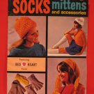 Beret Garters Socks Mittens Cloche Cap Gloves Scarf Bib Belt Crochet Knitting Patterns Family