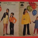 Patons Beehive Capes Shorts Vest Skirt Dress Sweater Crochet and Knitting Pattern 6 - 12 Years