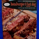 Vintage 1958 Good Housekeeping Book Hamburger Hot Dogs Cookbook Recipes