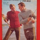 Columbia Minerva Hand Knits for Men Knitting Pattern Magazine Cardigans Sweaters etc