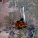 Hard Rock Cafe Honolulu Hawaii Hurricane Glass Souvenir Tall