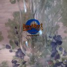 Hard Rock Cafe Whistler BC. British Columbia Glass Souvenir CLOSED