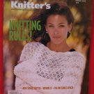 Knitter's Knitting Rules Knitting Patterns Magazine Sweaters Pullovers Jacket Shawl etc