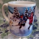 Tim Hortons Coffee Mug Tea Cup Skating Pond Souvenir Number 3 Limited Edition