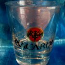 Bacardi Rum Glass Souvenir Highball Glass Bat Logo NEW SEALED
