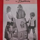 Vintage Patons Crochet and Knitting Patterns Vests Children Sizes 4 - 10