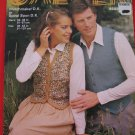 Jaeger Vintage Vest Waistcoat Knitting Pattern Ladies and Mens Sizes 32 - 42