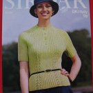 Vintage Sirdar D.K. Jumper 4 Ply Jumper Sweater Knitting Pattern Ladies Mens Sizes 32 - 38