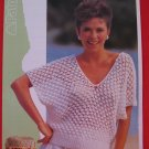"Patons Lady's Simple V Neck Sweater Knitting Pattern Ladies Sizes 32"" - 38"""