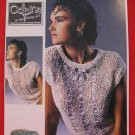 "Patons Lady's Teens Sleeveless Sweater Top Knitting Pattern Ladies Sizes 30"" - 38"""