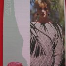 "Patons Lady's Diamond Lattice Sweater Knitting Pattern Ladies Sizes 30"" - 40"""