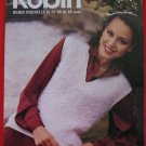 "Robin Wool Lady's Sweater Vest Knitting Pattern Ladies Sizes 30"" - 40"""