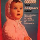 Patons Baby and Toddlers 28 Vintage Knitting and Crochet Patterns Sweaters Coats etc.