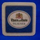 Thurn and Taris Pilsener Beer Coaster Vintage British Ale Souvenir Collector Mat