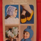 Patons Beehive Knitting Crochet Patterns Childrens Baby Slippers Hat Cap Scarf Bootees etc