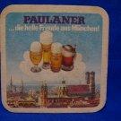 Paulaner Beer Coaster Vintage Souvenir Collector Collectible