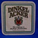 Dinkel Acker Beer Coaster Vintage Souvenir Collector Vintage Collectible