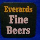 Everards Fine Beer Coaster British Souvenir Collector Vintage