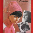 Beehive Vintage Knitting Patterns Adults Children Headwear Scarves Caps Hats Balaclavas Toques