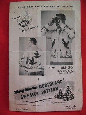 White Buffalo and Mary Maxim Sweater Patterns | True North Knitting