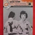 Mary Maxim Cardigan Sweater Vintage 1962 Knitting Patterns Ladies Golf Golfing